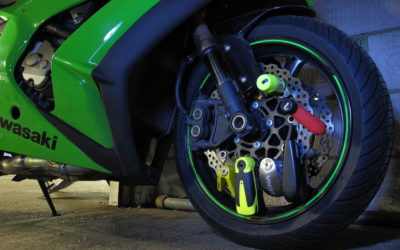 Simple motorcycle security that criminals hate