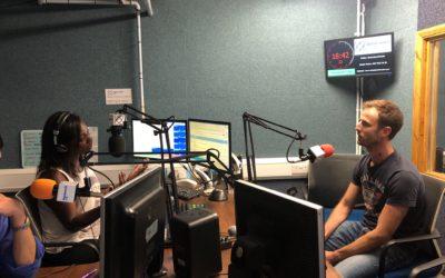 Talking about bike crime on Wandsworth Radio