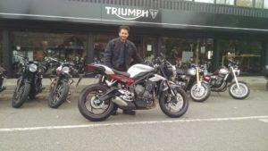 Triumph Street Triple (LV67AVU)