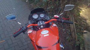 Honda CBF125 (AK09UOR )