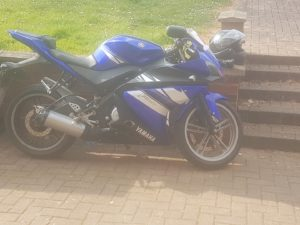 Yamaha YZF-R125 (FH10DGX)