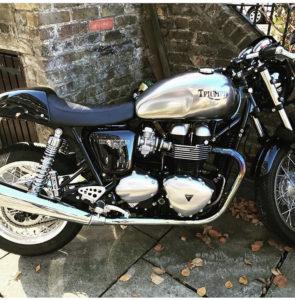Triumph Thruxton (KE14 CFZ)