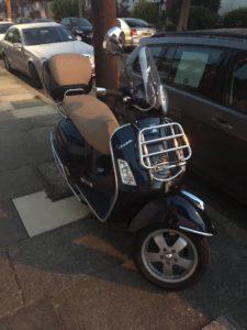Piaggio Vespa GTS (JJ08 ONE)