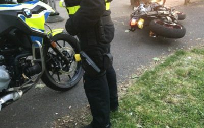 Police arrest shorts-wearing 180mph suspected bike thief