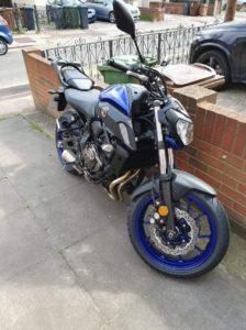 Yamaha MT-07 (EF19 ZPX)