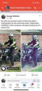 Honda CB125R (HS19 RGZ)