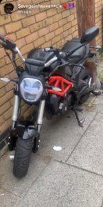 WK Bikes 125 (GJ21 CXH)